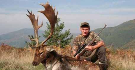 Fallow deer hunt 2x2